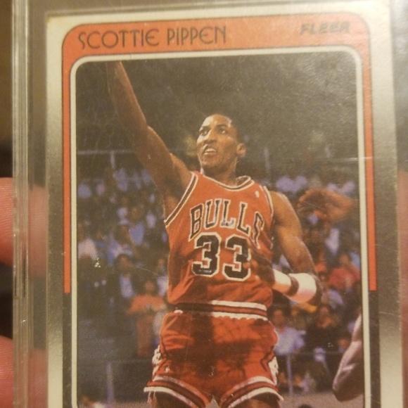 Fleer Other - 1988 Fleer Rookie Scottie Pippen